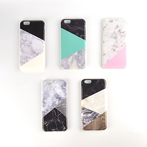 2016 Granite Classic Geometric Mosaic Triangle Marble Phone Case Covers Capa Para For IPHONE 6 6s 6 Plus 6s plus Coque - The Lenses Spiderman Amazing