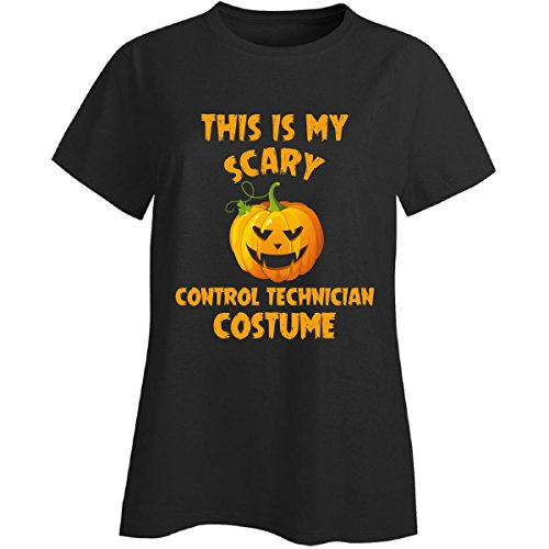This Is My Scary Control Technician Costume Halloween Gift - Ladies T-shirt -