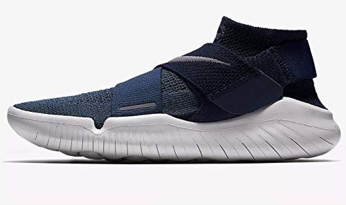 Nike Free Rn Motion Flyknit 2018 Sz 11 Mens Running Squadron Blue/Gunsmoke-Midnight Navy Shoes