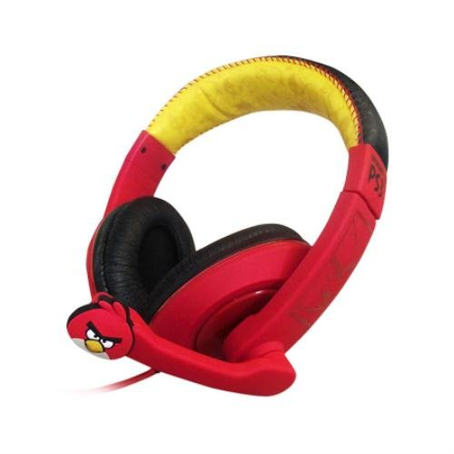 Angry Birds Compatible Gamer Headset - PSN (PS3) by Game On