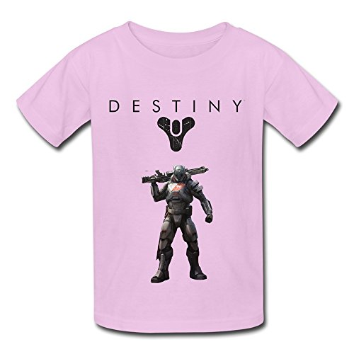 Price comparison product image QMY Kid's Funny Destiny Logo T-shirts Size XL Pink