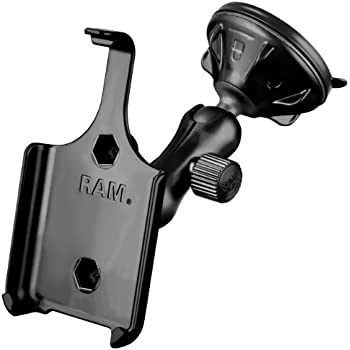 RAM RAP-B-166-2-AP9U RAM Mounting Systems Ram Mount Suction Cup Vehicle Mount for Apple iPhone 4