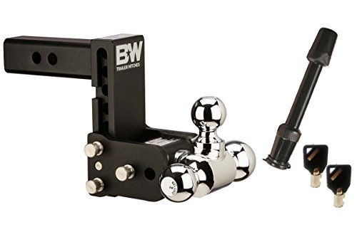 B&W Hitches TS10048B Tow & Stow Model 8 5-5.5