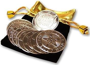 Magic Wishing Coins Von Alan Wong 10 Stück Amazonde Spielzeug