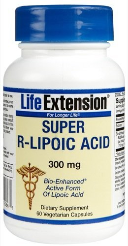 Super R-Lipoic Acid, 240 mg, 60 vcaps by Life Extension (Pack of 3)