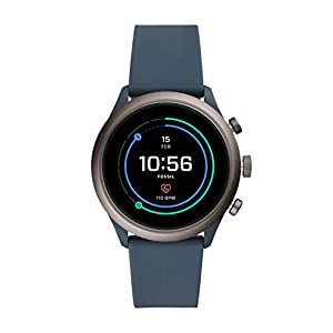 Fossil Sport Smartwatch 43mm Smokey Blue – FTW4021