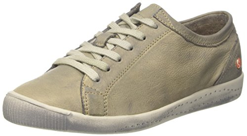Taupe Donna Sneaker 559 Softinos Isla Grigio Washed EqPxwXt