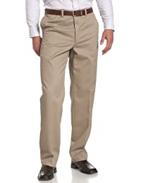 Men's Flat Front Performance Chino Pant