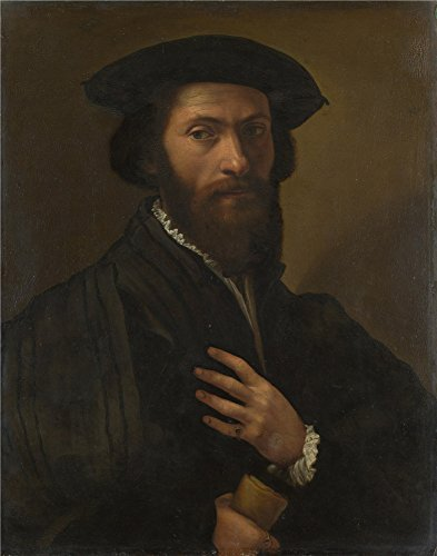 Florentine Wastebasket - The Polyster Canvas Of Oil Painting 'Italian Florentine A Bearded Man ' ,size: 24 X 31 Inch / 61 X 78 Cm ,this Cheap But High Quality Art Decorative Art Decorative Prints On Canvas Is Fit For Nursery Gallery Art And Home Decoration And Gifts