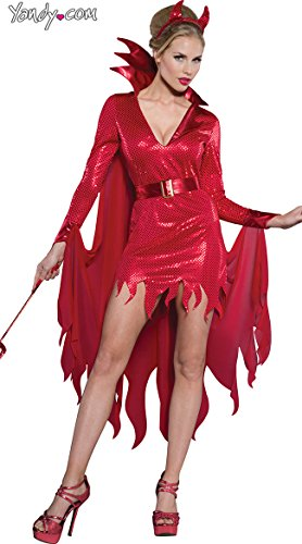InCharacter Costumes Women's Hot Stuff Devil Costume, Red, (Hot Devil Costumes)