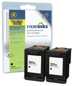 2 cartuchos de tinta para impresora HP Deskjet 3052A-negro XL de ...