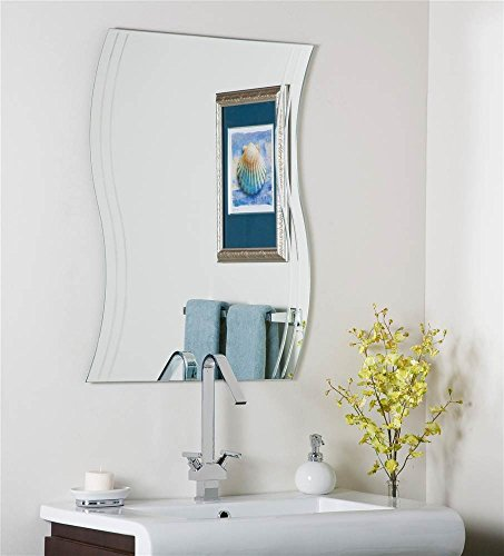 Decor Wonderland Frameless Surf Wall Mirror ()