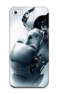 Top Quality Case Cover For Iphone 5c Case With Nice Human Robot Appearance