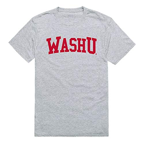 WUSTL Washington University in St. Louis Game Day Tee T-Shirt Heather Grey Medium from W Republic