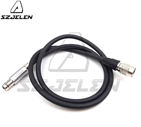 Gimax HR 4pin female to RS3 pin male powered SamII HD AC7//USA SmallHD DP7-PRO power cord,1m