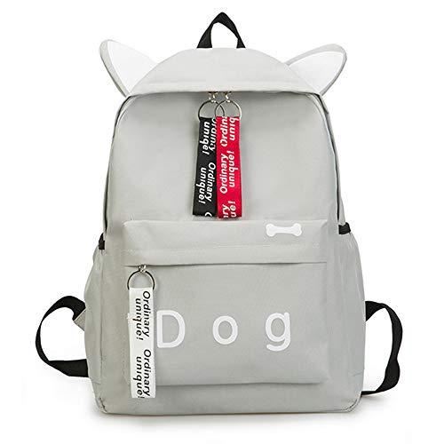 Amazon.com   JJLIKER ❤ Women Canvas Backpack, Dog Letter Fasgion Lovely School Shoulder Bag   Kids Backpacks