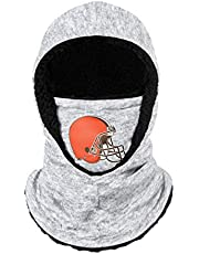 FOCO NFL Team Logo Hooded Gaiter Face Cover
