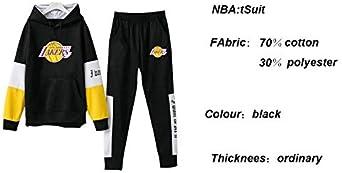 LLKSS Sweats /à Capuche Imprim/é Lakers Hommes Sweatshirts Jeunesse /à Capuche Ensemble Sportswear M/âle//Femmes Unisexe D/écontract/é Sweat /À Capuche V/êtements