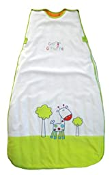 Limited Time Offer! The Dream Bag Baby Sleeping Bag Velour George Giraffe 0-6 Months 3.5 TOG - White