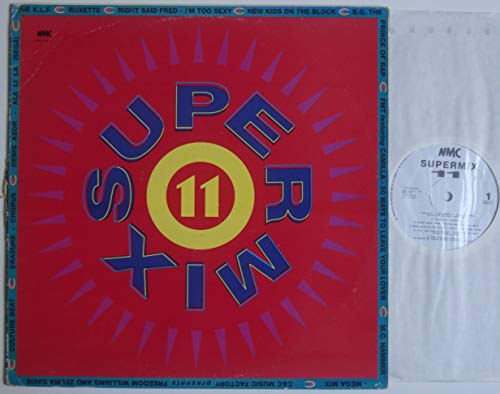 "Compilation (NMC) - Supermix 11 - 12"" LP 1991 - NMC Music 20019-1 - Israeli Press"