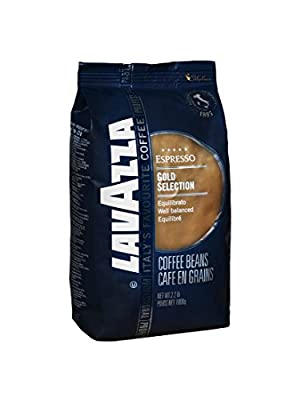 Lavazza Gold Selection - Whole Bean Coffee, 2.2-Pound Bag - Pack of 2