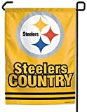 NFL Pittsburgh Steelers WCR69990091 Garden Flag, 11'' x 15''