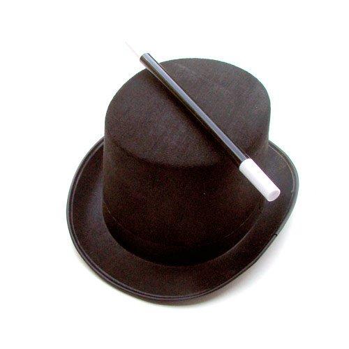 chapeau et baguette du magicien junior amazonfr jeux et jouets