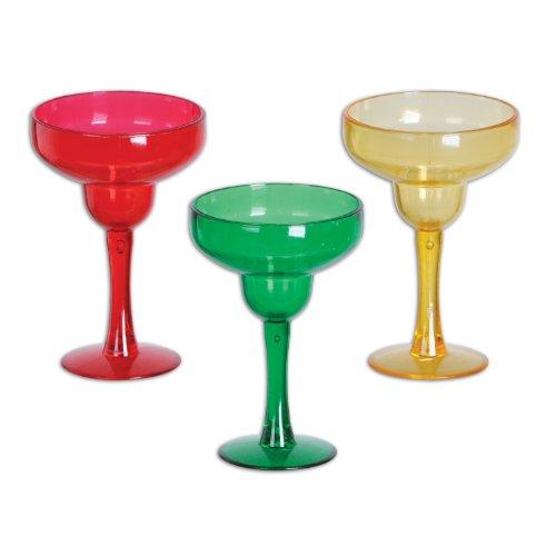 Margarita Shot Glasses asstd green