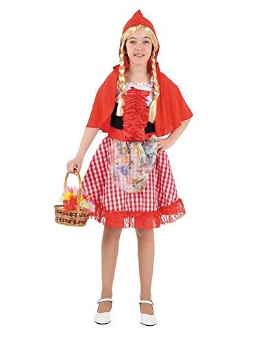 DISBACANAL Disfraz Caperucita Roja niña - con Flores, 2 años ...
