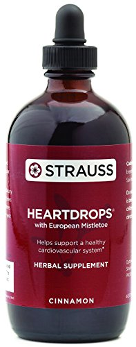 Strauss Heartdrops–Aged Garlic Extract, Herbal Supplement for Heart Health-Heartdrops | Maintain a Healthy Cardiovascular System–High Quality, Natural Ingredients (3.4 fl oz Cinnamon Flavor)