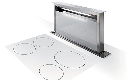 Faber Dunstabzugshaube Fabula Tischhaube 90 cm Glas Weiß