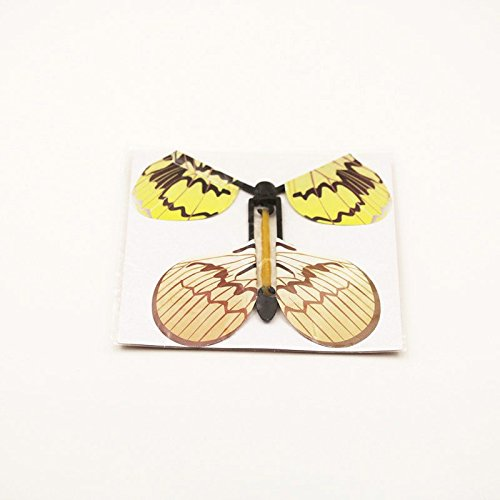 Gold Happy 12pcs magic flying butterfly change from empty hands freedom butterfly close up magic tricks magia kids toy funny gadgets 83008 by Gold Happy (Image #2)