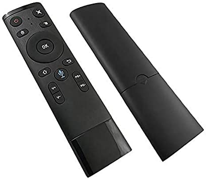 Mando a distancia TV inalámbrico Bluetooth WiFi Voice Air Remote Control, 2.4 GHz WiFi Voice Air