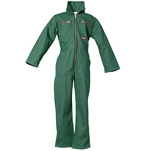 Planam 162086 Size 86/92 Children's Overall - Mid Green by Planam