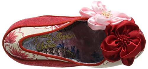 Shoes Pink Red Peach Womens Irregular Melba Choice Textile 60OP6qXW