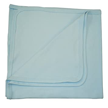 BabywearUK Baby Decke - Baumwolle - Weiß - British Made