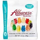 Albanese Sugar Free Gummi Bears - 3 3.5-oz Bags