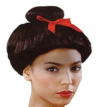 Black Geisha Girl Ladies Wig (peluca): Amazon.es: Juguetes y juegos
