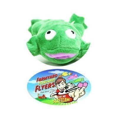 Flingshot Frog Flies With A Crooooaaaak! Just Pull Him Back And Let Him Fly! Flingshot Flying Frog Ages 4 & Up - Slingshot Flying Frog: Everything Else