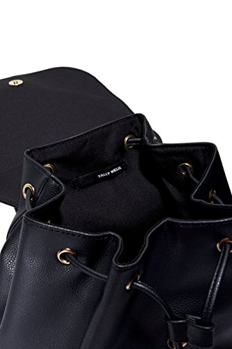 Tally Weijl Zainetto in Similpelle Nera - Donna - Black - OS