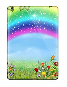 New Design Shatterproof KwgGShf2159drJej Case For Ipad Air (rainbow Cartoon )