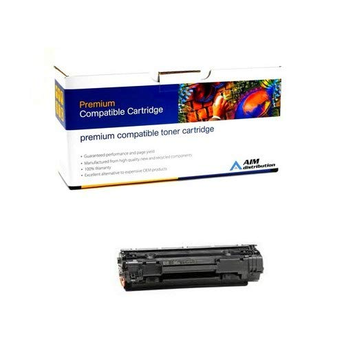(AIM Compatible Replacement for PrintMaster TN1505 Toner Cartridge (2000 Page Yield) - Compatible to HP CB436A - Generic)