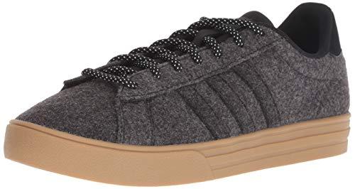adidas Men's Daily 2.0 Sneaker, Black/Carbon/Gum, 10 M - Skate Shoes Clearance Mens
