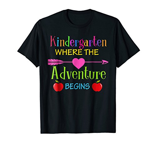 Kindergarten Where The Adventure Begins Shirt Kinder - Kindergarten Teacher Tshirts