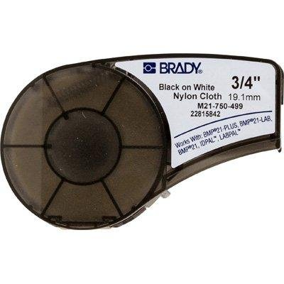 Brady Nylon Cloths - Nylon Cloth Brady BMP®21 Plus Label Cartridge - 3/4