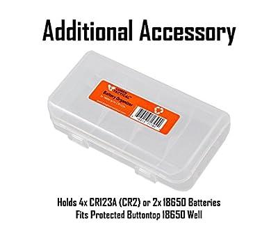 NITECORE EC23 1800 Lumens High Performance Compact LED Flashlight and Lumen Tactical Battery Organizer