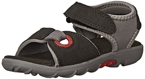 Bogs Yukon Athletic Sandal ,  Black/Multi, 13 M US Little Ki