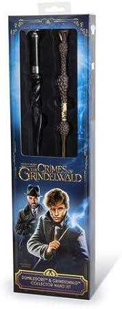Noble Collection Varita Dumbledore y Grindelwald - Animales Fantasticos: Amazon.es: Hogar