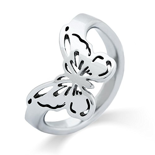 Eve's Addiction Thumb Ring Butterfly Cut Out, Sizes 7 to 10 Cut Out Butterfly Ring