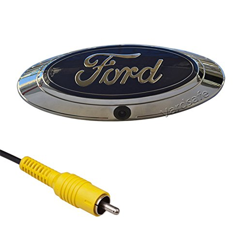 Vardsafe | Emblem Rear View Reverse Backup Camera with RCA Connector for Ford Ranger (2011-2018)